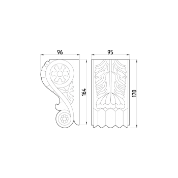 Кронштейн 62.170