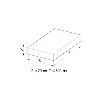 Облицовочная плита POXxZxY 69.0.2