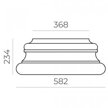 База колонны 64.71.234