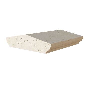 Двускатная накрывная плита 66.67.130.1