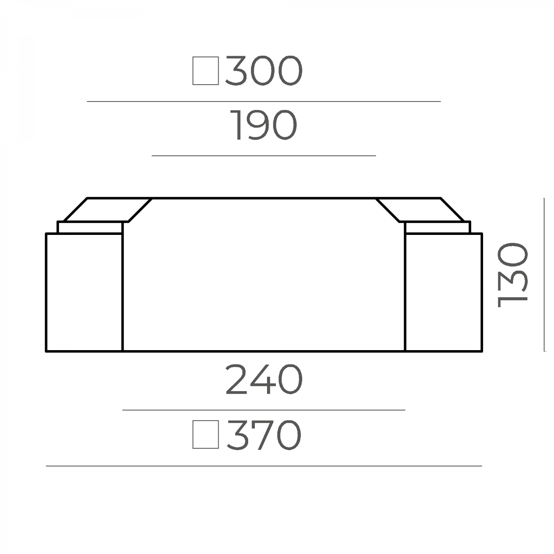 Основание тумбы 66.36.130.1