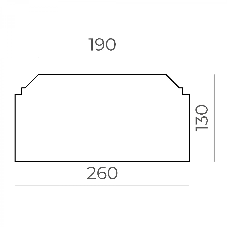 Основание балюстрады 66.36.130.2